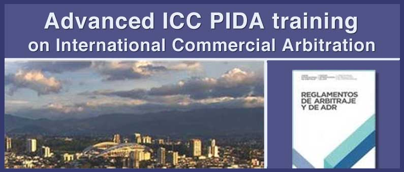 Speaker at the advanced ICC PIDA Training on International Commercial Arbitration